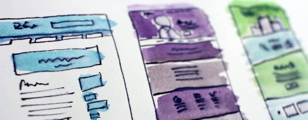 Ilustration für Content-Marketing