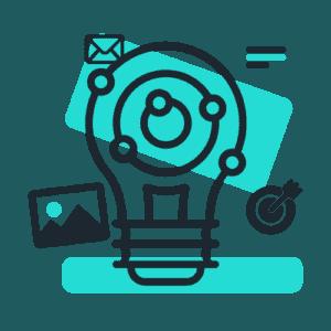 Icon Content-Marketing
